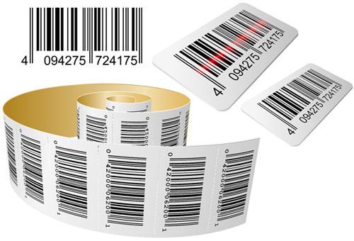 Cắt bế tem nhãn mã vạch (Qr code, barcode) decal mọi kích thước