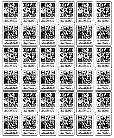 Cắt bế tem nhãn mã vạch Qr code kích thước nhỏ chỉ 3x3mm