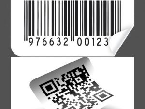 Cắt bế tem nhãn mã vạch Qr code, Barcode