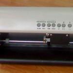 Máy cắt decal MINI DC330