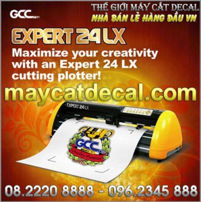 Máy GCC Expert 24 LX